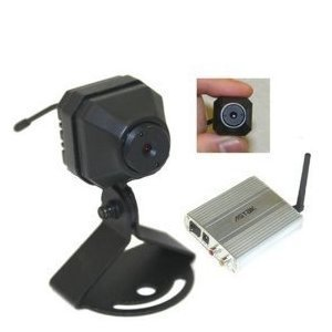 Locked-band Mini Wireless Full Motion Color Camera with 4 Channe