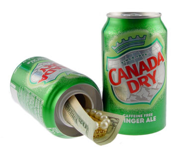 Can Safe Ginger Ale Diversion Safe Hides in plain sight