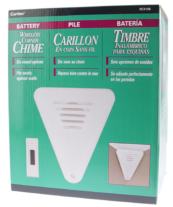 Wireless Corner Chime - Click Image to Close
