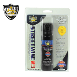 Police Strength Pepper Foam 4 oz Flip Top Lab Certified