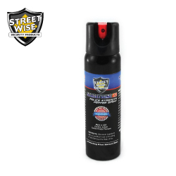 Police Strength Pepper Spray 4 oz Twist Lock Lab Certified