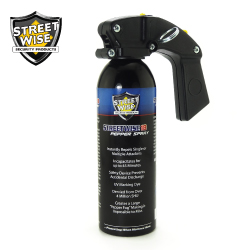 Pistol Grip Pepper Spray 16 oz Pepper Spray Lab Certified