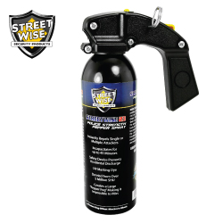 PISTOL GRIP Police Strength Pepper Spray 16 oz Lab Certified