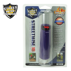 1/2 oz HARDSHELL Pepper Spray PURPLE Lab Certified