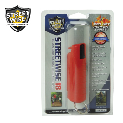 1/2 oz HARDSHELL Pepper Spray RED Lab Certified