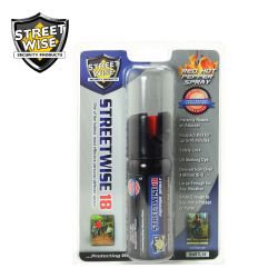 2 oz Pepper Spray TWIST LOCK Lab Certified