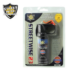 Fire Master Police Strength 2 oz Pepper Spray Lab Certified