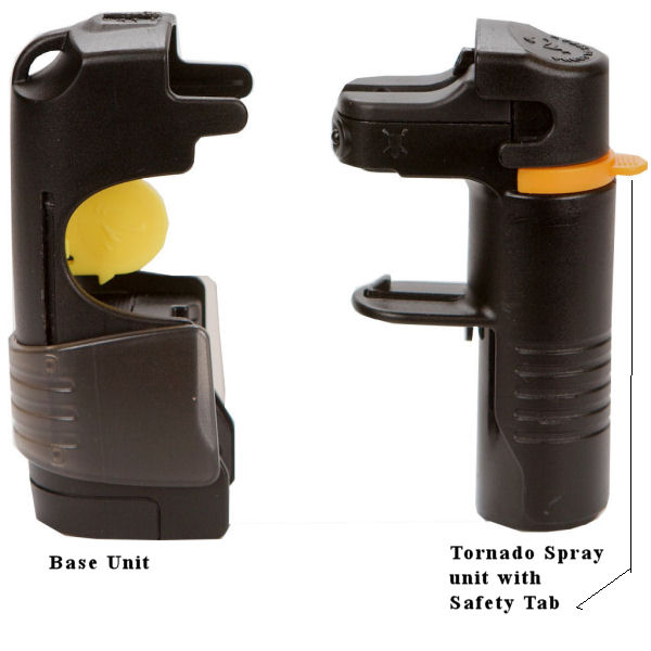 5 in 1 Pepper Spray with belt clip together in one package