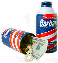 Can Safe - Barbasol Diversion Safe Hides in plain sight