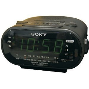 SONY Alarm Clock Hidden Camera with Built-In DVR