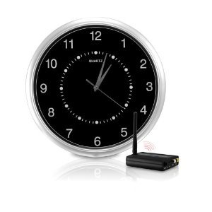 Clock Camera Wi-Fi Interference Free Wireless Wall-Clock Hidden